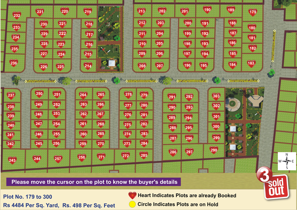 Layout Plan Dholera Metro City-3