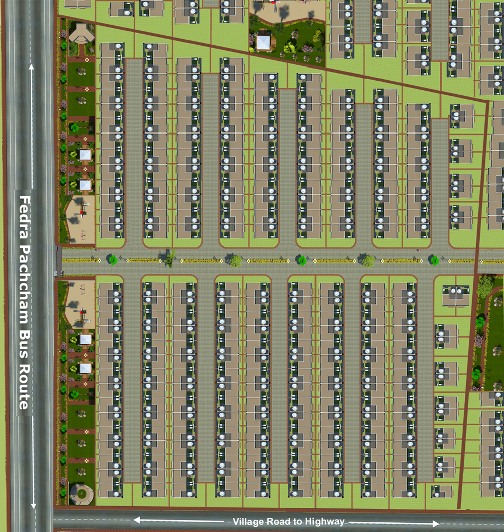 Layout Plan Dholera Metro City-5002