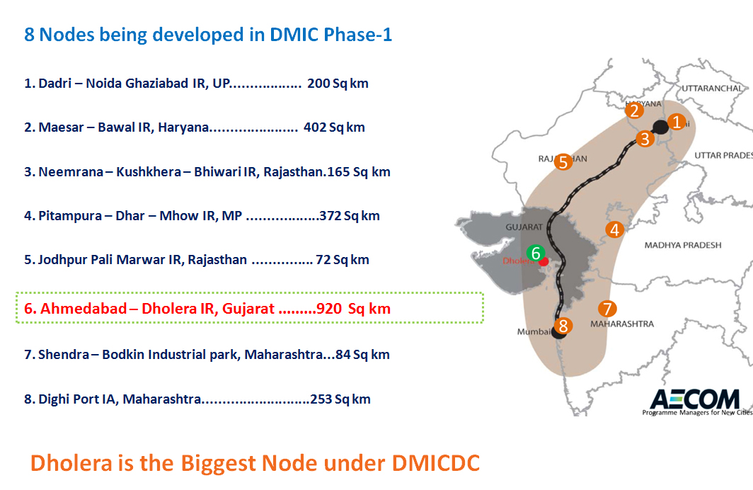 Smart Industrial Townships Under DMIC
