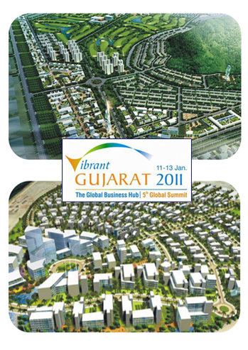 Signed MoU with Govt of Gujarat -dholera Metro City