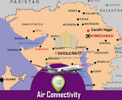 Air Connectivity Dholera SIR