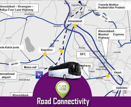 Road Connectivity Dholera SIR