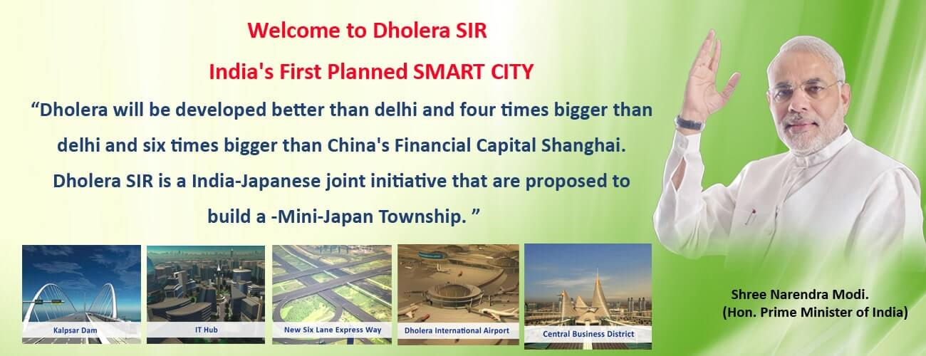 Dholera SIR Smart City Gujarat