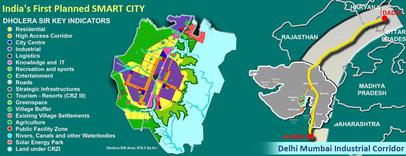 Dholera SIR Smart City Residential Plots