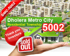 Dholera Metro City-5002, Booking Open